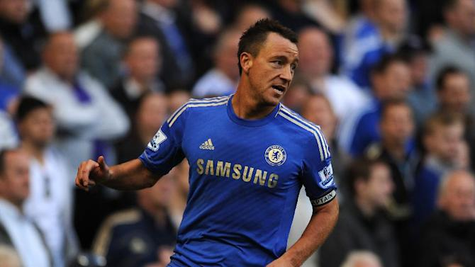 John Terry is not appealing against his punishment