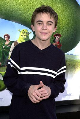 Premiere: Frankie Muniz at the Westwood, CA premiere of DreamWorks Pictures' Shrek - 4/22/2001