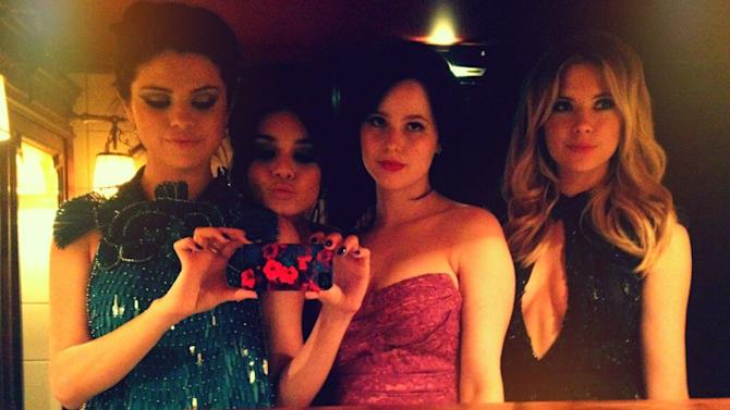 Selena Gomez, Vanessa Hudgens, Rachel Korine and Ashley Benson