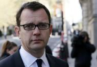Former Editor of the News of the World Andy Coulson arrives at the Old Bailey in central London April 14, 2014. REUTERS/Stefan Wermuth