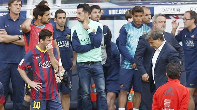 Liga - Barcelona set for 'profound changes' after poor season