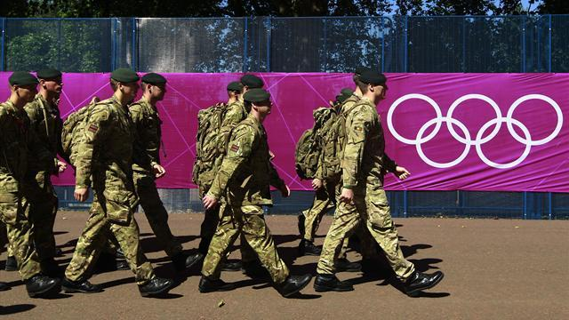 Olympic Games - Government deploys 1,200 more Olympic troops