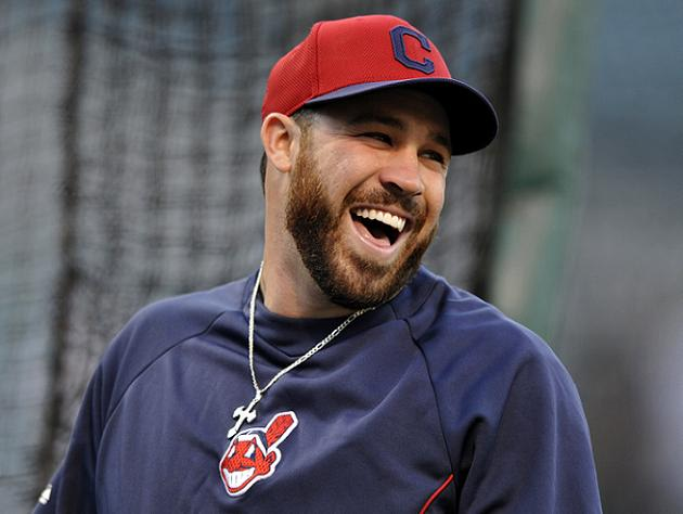 jason kipnis shows off ugly welt after being hit by a