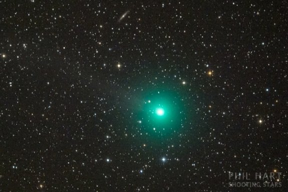 Comet Lovejoy photographed in Australia on Dec. 13, 2014.