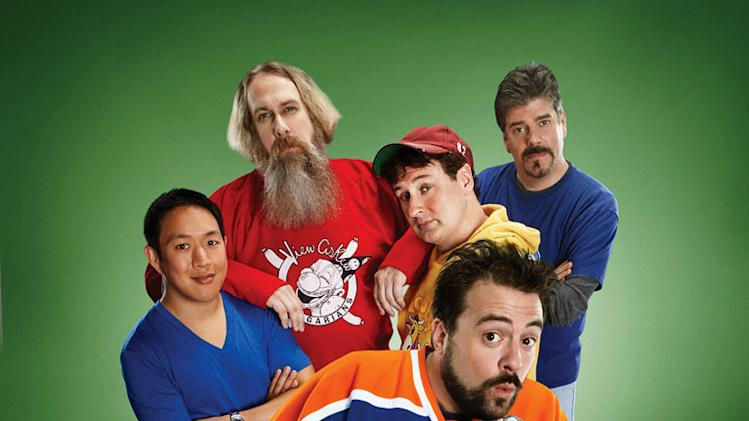 "The cast of ""Comic Book Men."""