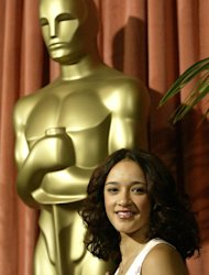 "Actress Keisha Castle-Hughes is pictured on February 9, 2004 at the Oscar Nominees Luncheon in Beverly Hills. She was 13 in 2003 when nominated for the best actress Oscar for her role in ""Whale Rider"""