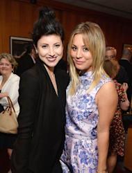 Briana Cuoco and Kaley Cuoco attend the afterparty for AFI And Sony Picture Classics' Hosts The Premiere Of 'Blue Jasmine' on July 24, 2013 -- Getty Images