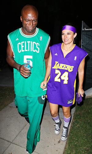 PICTURE: Seal Attends Halloween Party With Mystery Woman as Date