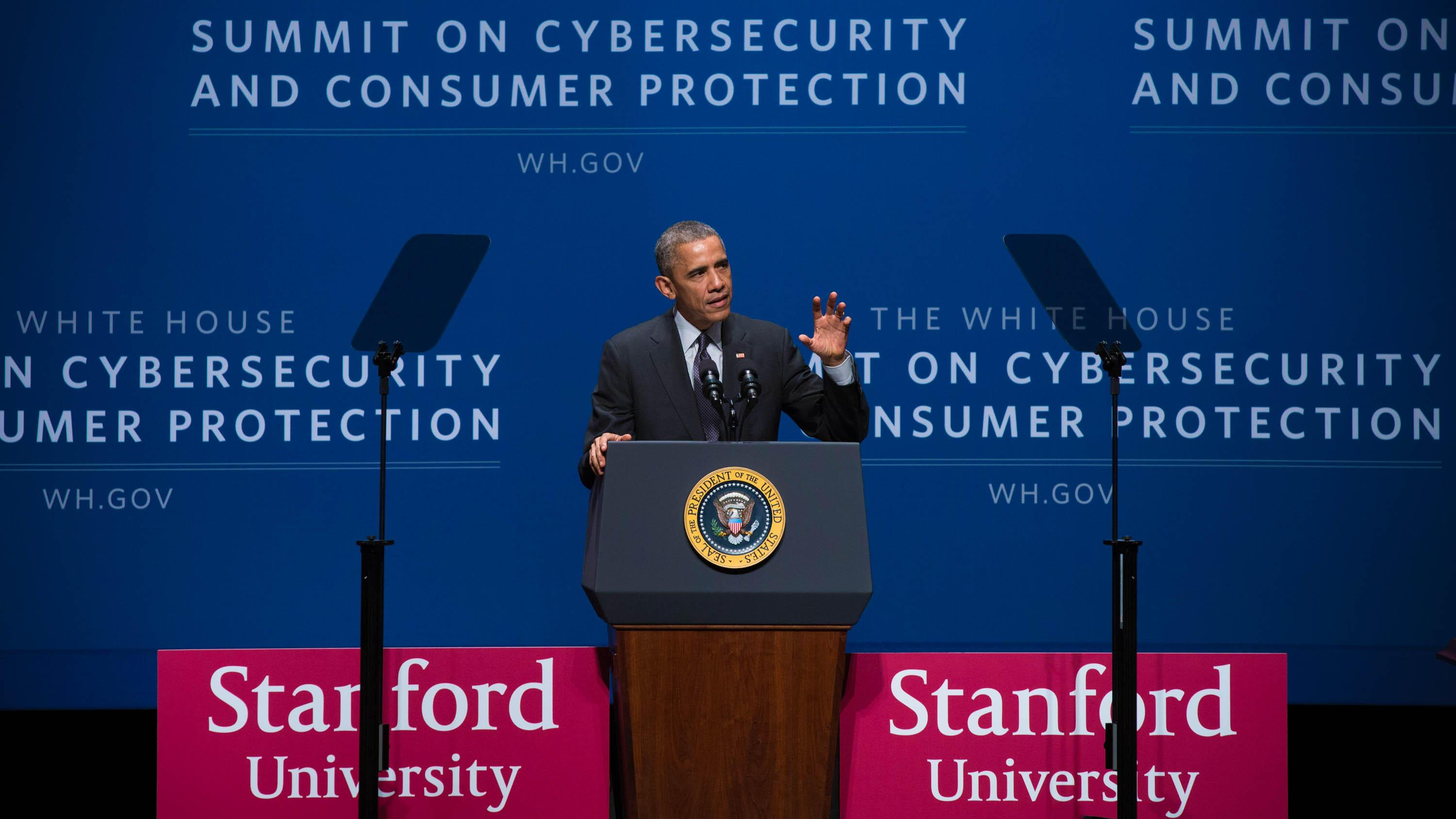 Obama puts 'malicious cyber actors' on notice