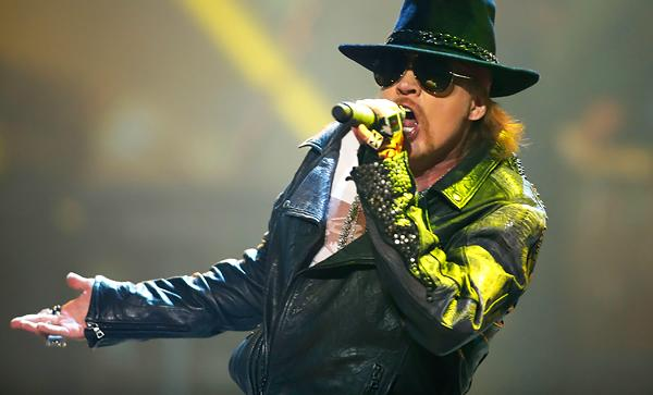 Guns N' Roses 'Robot Rape' Ads Pulled in Las Vegas