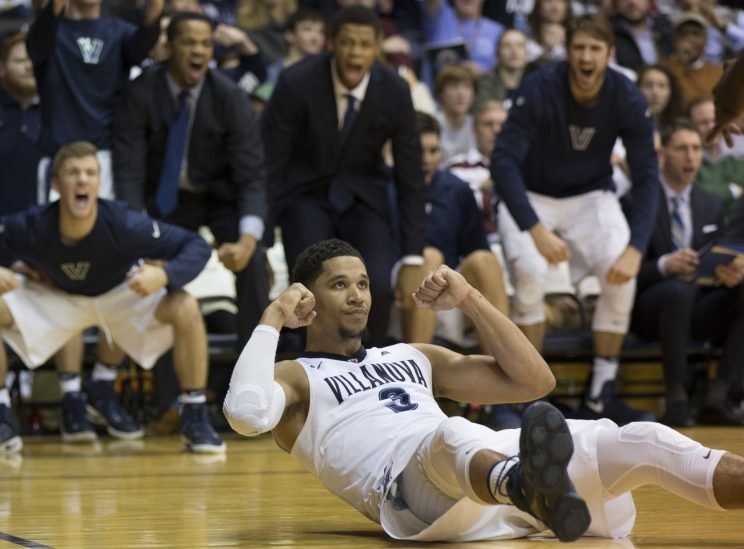 Josh Hart and Villanova are clear-cut favorites in the Big East, but there's a trio of challengers waiting should the defending champs slip up. (Getty)