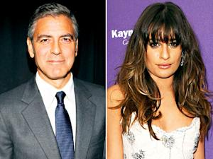 George Clooney Pursued Eva Longoria; How Lea Michele Learned of Cory Monteith's Death: Today's Top Stories