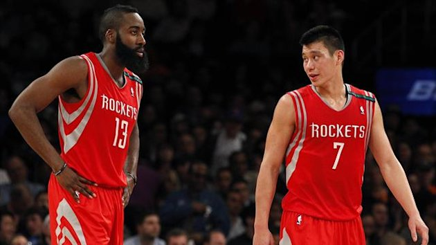 James Harden Jeremy Lin