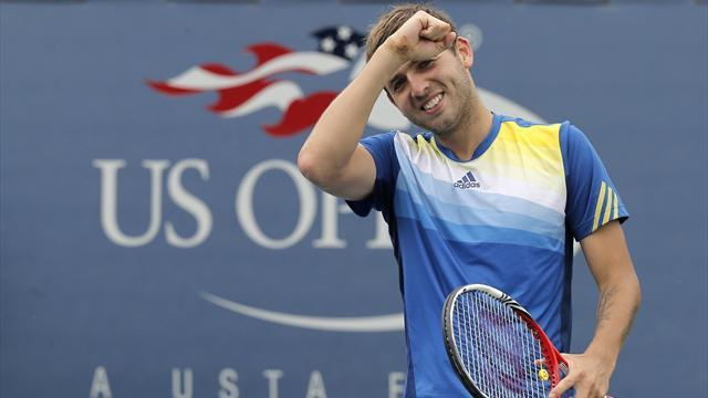 US Open - Evans continues New York fairytale with Tomic win