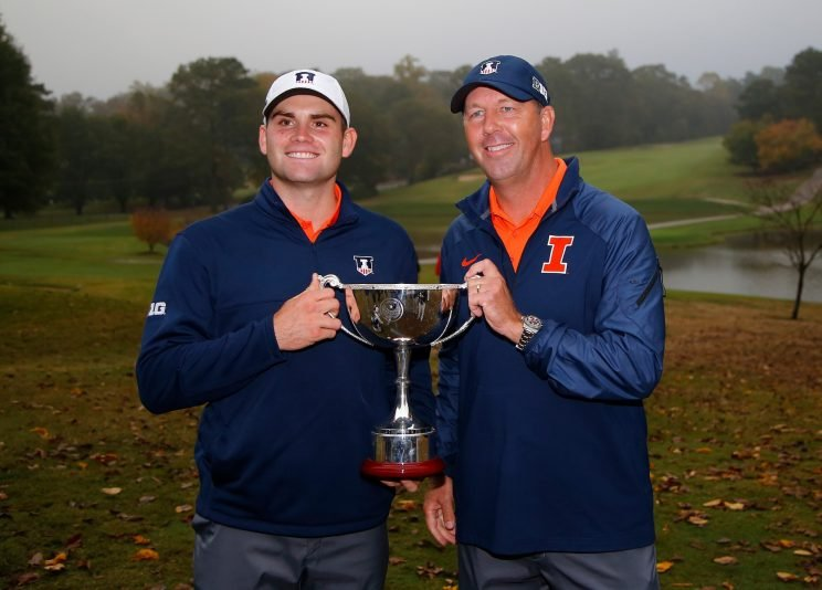 Collegiate golf has become bigger in recent years. (Getty Images)