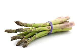 Spear a spear of low-calorie asparagus for your next meal.