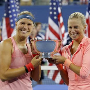 Czech pair win U.S. Open women's doubles title