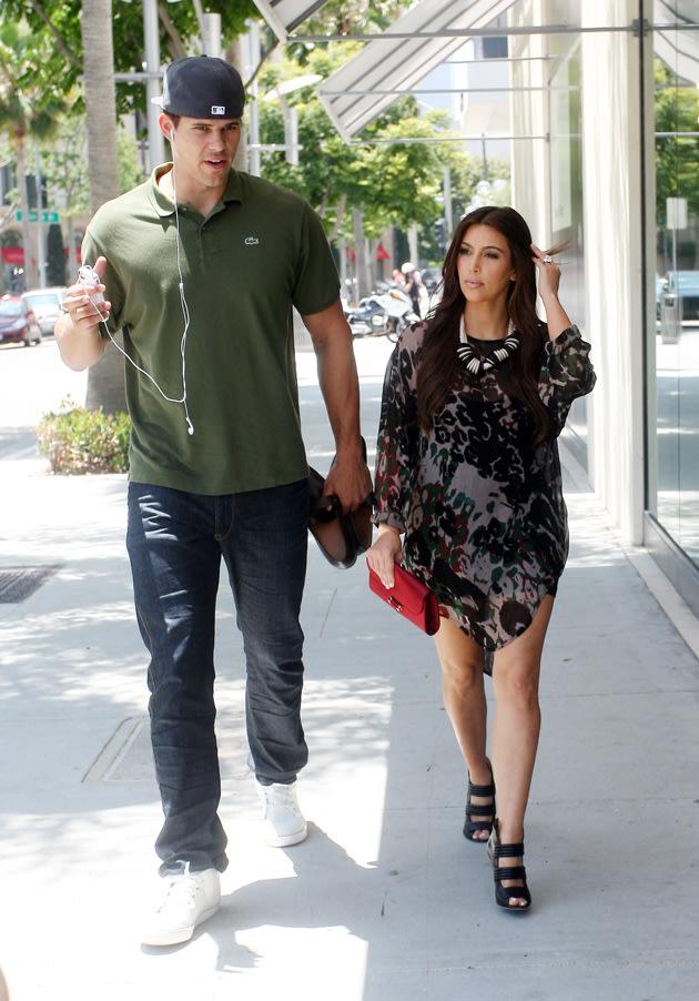 Kim Kardashian and ex husband Kris Humphries