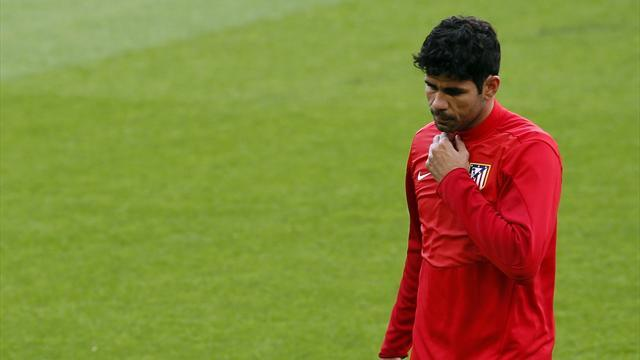 Champions League - Fitness test for Costa ahead of Barcelona clash