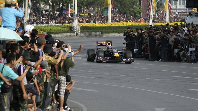 Formula 1 - Thailand approves layout for track