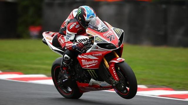 Superbikes - Oulton BSB: Ellison holds off Byrne to take race one win