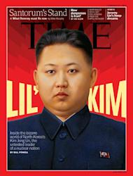 Time magazine made Kim Jong Un their cover star in February this year (Time)