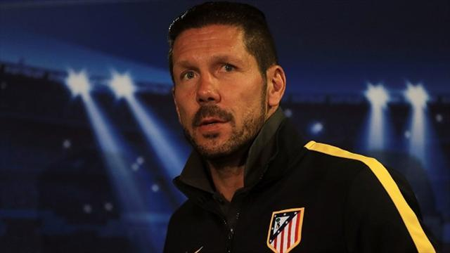Champions League - Simeone defends Mourinho tactics