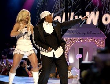 Britney Spears and Madonna MTV Video Music Awards - 8/28/2003 Missy Elliott