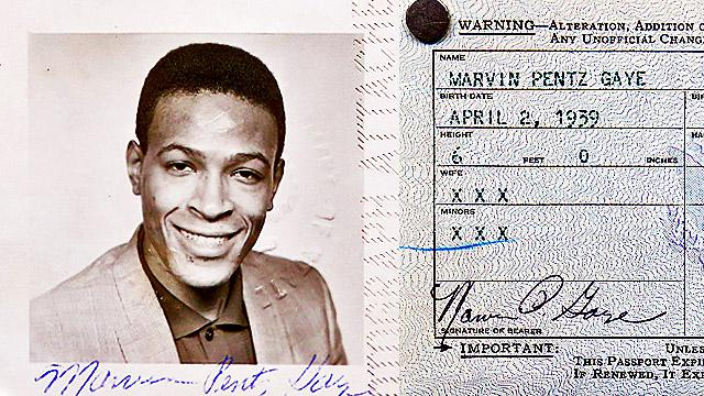 Marvin Gaye's Passport Found At Garage Sale