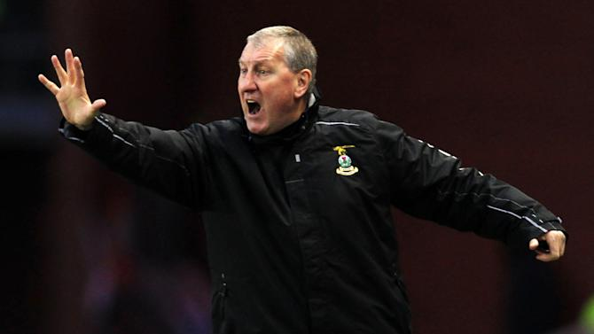 Terry Butcher marked his 100th SPL match in charge of Inverness with a win