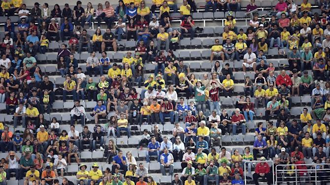 FIFA: No-show fans reason for empty seats