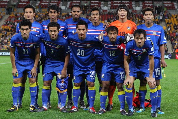 Timnas Thailand (Getty Images/Chris Hyde)