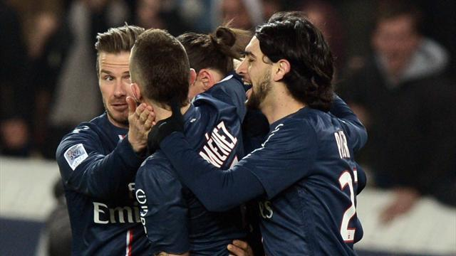 Ligue 1 - Substitute Gameiro gives PSG eight-point lead