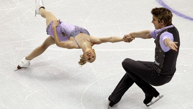 Figure Skating - Kemp and King miss out on pairs free skate