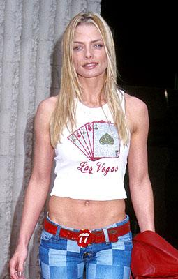 Jaime Pressly at the Hollywood premiere of Columbia's Joe Dirt