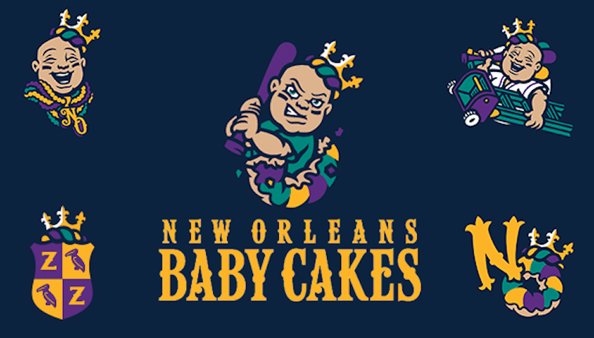 The New Orleans Baby Cakes, ladies and gentleman. (Baby Cakes)