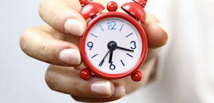 75% of Facebook Post Engagement Takes Place in the First 3 Hours image small red clock fea