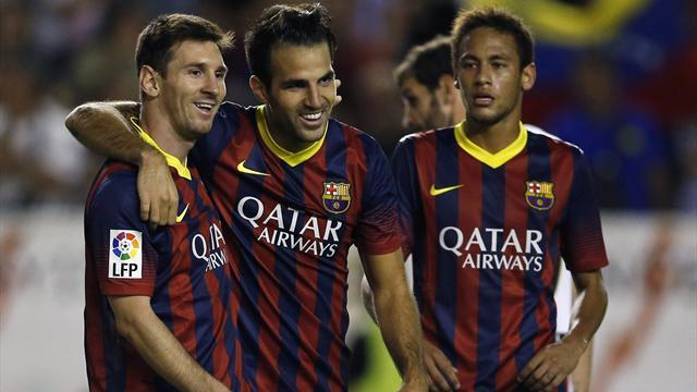 Liga - Cesc: Barca want to dominate