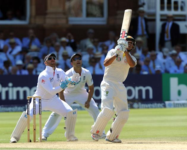 Cricket - Second Investec Ashes Test - England v Australia - Day Two - Lord's