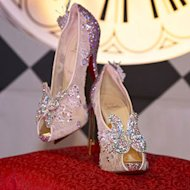 Shoe designing legend, Christian Louboutin has collaborated with Disney on a pair of fairytale heels