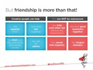 Can I Share a Dream? Image Your Customer Becomes Your Friend… image friendship is more 300x225
