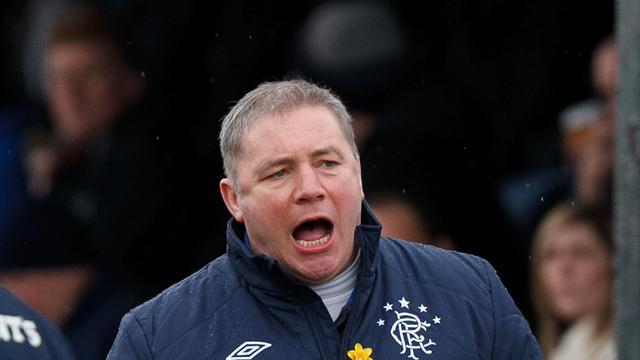 Football - McCoist laments 'harsh' red card
