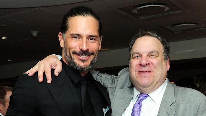 HBO's Official Golden Globe Awards After Party - Red Carpet: Joe Manganiello and Jeff Garlin