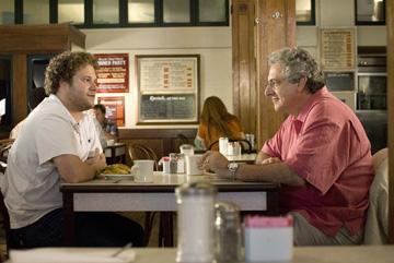 Seth Rogen and Harold Ramis in Universal Pictures' Knocked Up