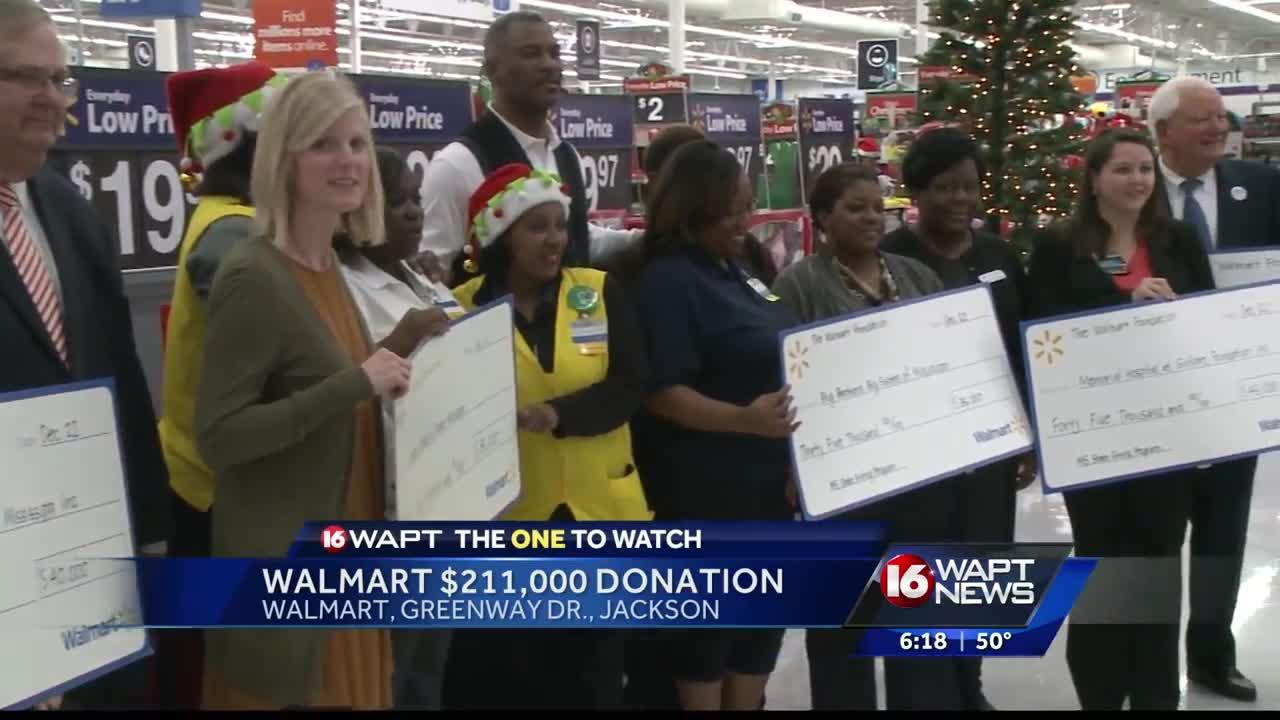 how to get donations from walmart canada