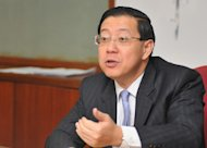Penang Chief Minister Lim Guan Eng doesn't agree with the recent comments by former Prime Minister Tun Mahathir, Sept 15, 2014. — Picture by K.E. Ooi