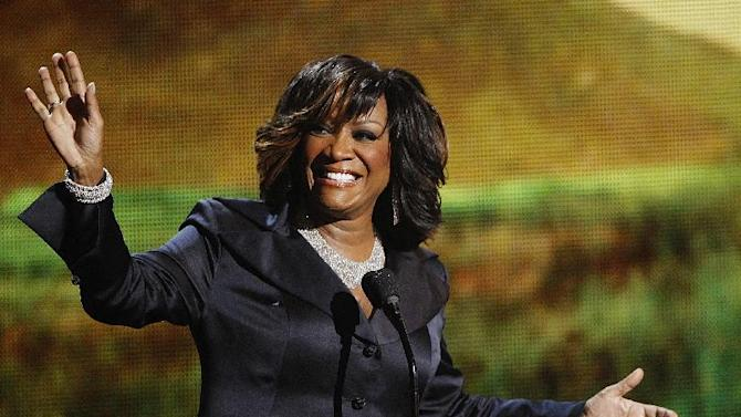 FILE - In this June 26, 2011 file photo, singer Patti LaBelle accepts the lifetime achievement award at the BET Awards in Los Angeles. The R&B diva has agreed to pay $100,000 to a Manhattan woman who accused her of hurling curses and water at her and her 18-month-old daughter during a dust-up over parenting in an apartment building lobby. (AP Photo/Matt Sayles, File)