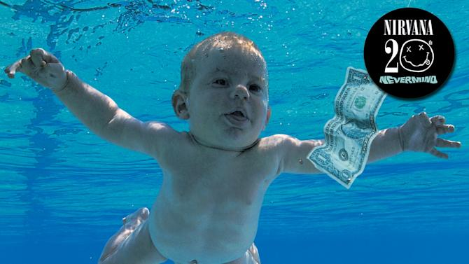 "In this box set cover image released by Geffen Records, Nirvana, ""Nevermind Deluxe Edition,"" is shown. (AP Photo/Geffen)"