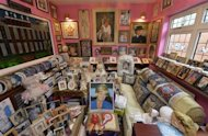 "The ""Diana"" room is seen in the house of Margaret Tyler in west London October 16, 2013. REUTERS/Toby Melville/Files"