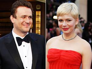 Jason Segel, Michelle Williams Affectionate, Inseparable at First Public Event as Couple